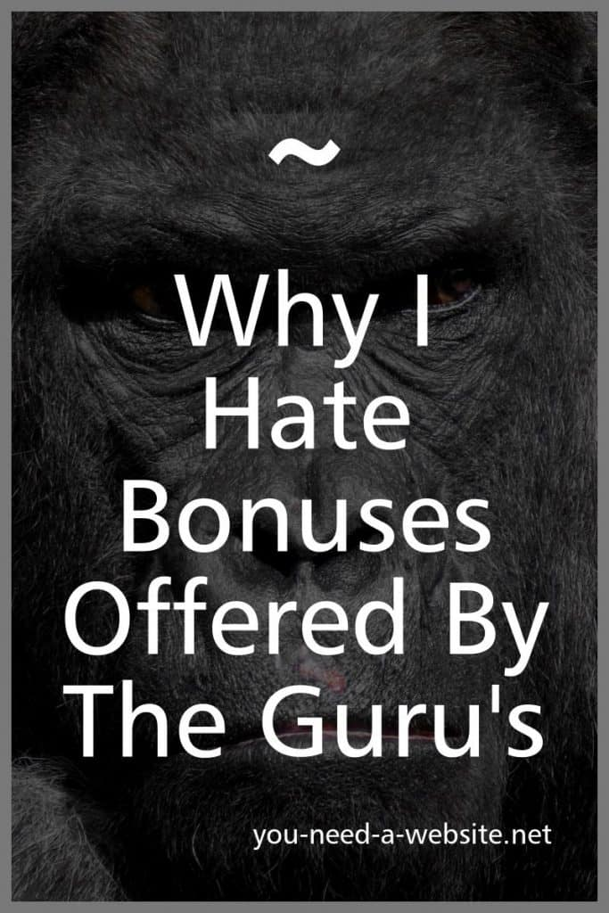 bonuses offered by the guru's