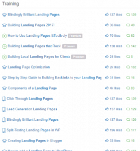 Landing page definition training and tips