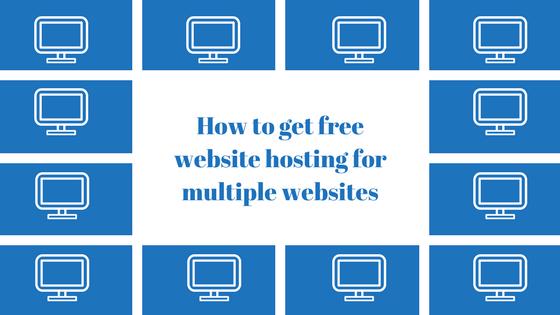 Website hosting for multiple websites on Wealthy Affiliate - You Need A Website